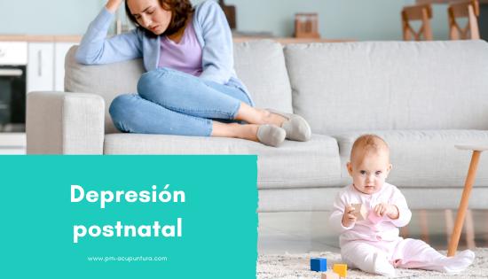 depresión postnatal